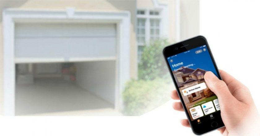 Puertas de garaje compatibles con el sistema Apple Homekit