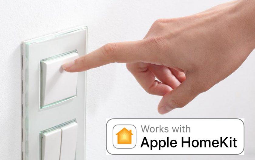 Interruptores compatibles con Apple Homekit