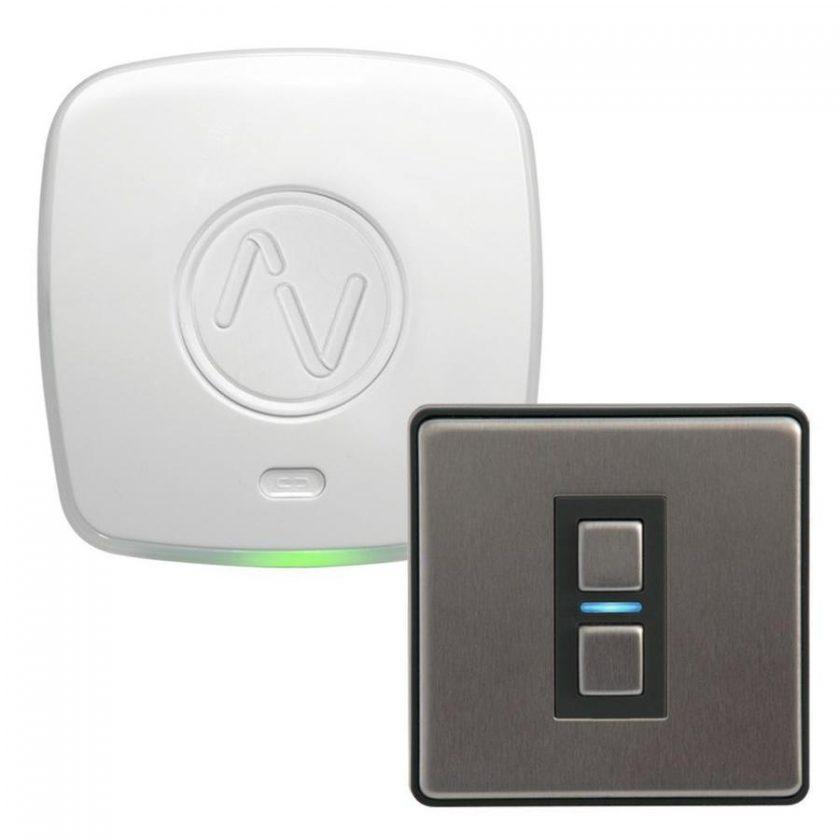 Sistema de interruptores inteligentes compatibles con Apple Homekit