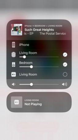 Como controlar un sistema multiroom de audio con apple
