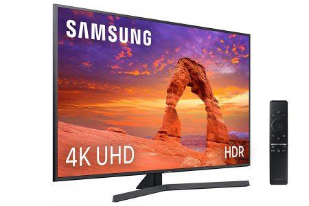 Smart TV Samsung 4K UHD compatible con  Airplay 2 y Apple TV