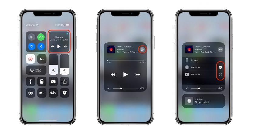 Como mandar  música a tus altavoces a traves de tu iphone.