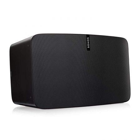 Altavoz wifi sonos Play 5, compatible con airplay 2 y homekit. A través de el puedes decirle a siri que encienda o apague tu música.