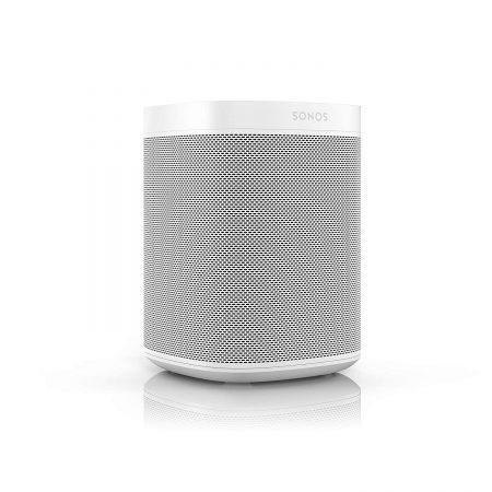 Altavoz wifi sonos one, compatible con airplay 2 y homekit. Ideal para mandar tu musica desde tu iphone o ipad. También incorpora amazon alexa y google home como asistente de voz.