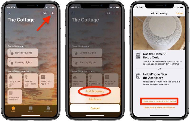 Proceso de como añadir altavoces airplay a apple homekit