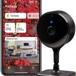 Eve CAM – Cámara Segura para Interior, 100% segura para tu privacidad, compatible con Apple HomeKit y con su protocolo Secure Video. Muy útil con notificaciones en iPhone/iPad/Apple Watch. Posee Sensor de Movimiento, micrófono y Altavoz, instalación Flexible