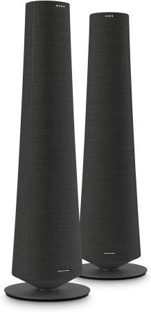 Harman Kardon - Altavoz Inteligente De Suelo Citation Tower Negro, compatible con Airplay 2