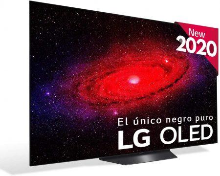 Televisor LG OLED  4K OLED con Inteligencia Artificial, y compatible con Apple homekit, airplay2 y con la app de apple tv. Posee un procesador Inteligente α7 Gen2, Deep Learning, 100% HDR, Dolby Vision/ATMOS y  HDMI 2.1.