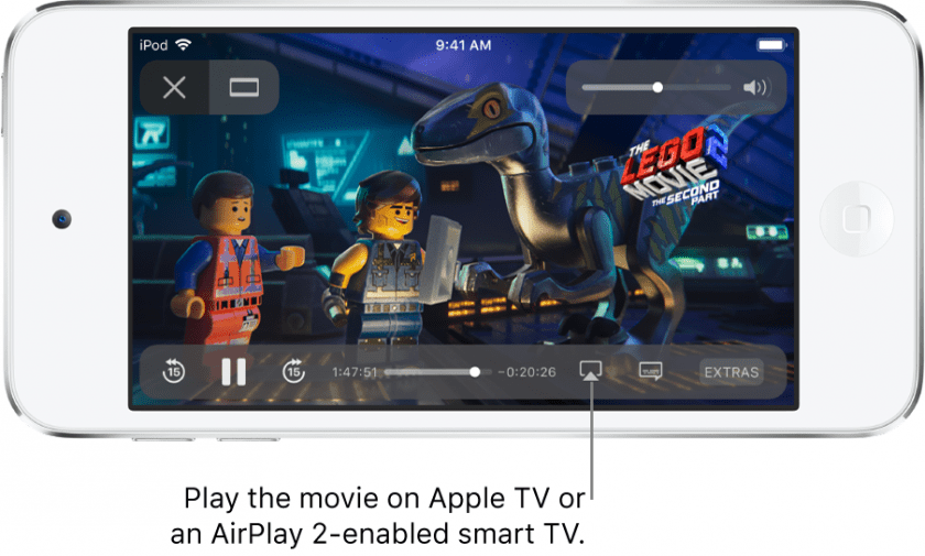 Como mandar un video de tu iphone a tu tv a través de airplay