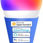Bombilla RGB wifi Meross compatible con Apple Homekit.