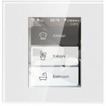 Pantalla LCD táctil que controla 3 canales de iluminación Apple Homekit.