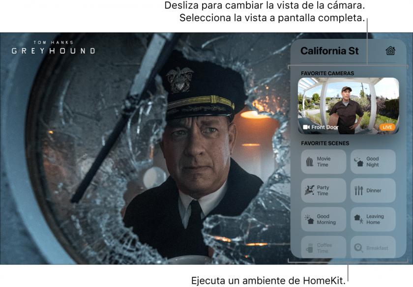 Ver las cámaras compatibles con Apple Homekit en tu Apple Tv