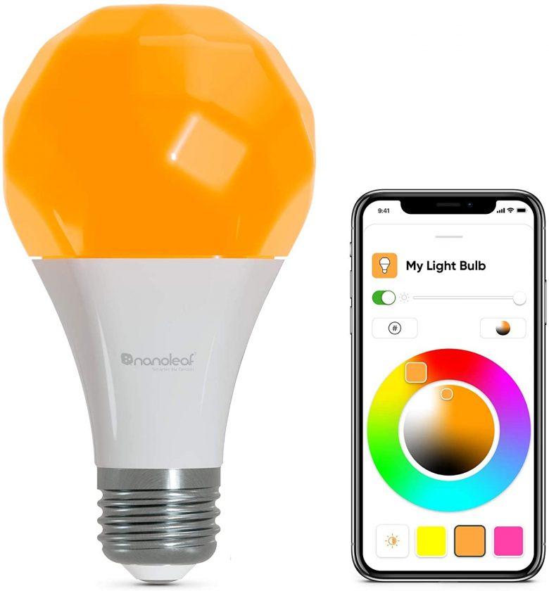 Nanoleaf Essential -  Bombilla multicolor Apple Homekit con compatibilidad con el protocolo de comunicación Thread