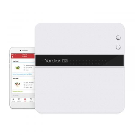 Yardian Pro Smart Sprinkler Controller with Instant Button Control, Compatible Apple HomeKit