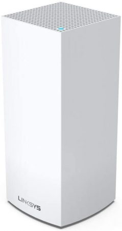 Linksys MX4200 -EU Sistema Velop WiFi 6 mesh tribanda para hogar (router/extensor WiFi AX4200, 260 m² de cobertura, velocidades hasta 3.5 veces más rápidas, más de 40 dispositivos, compatible con Apple Homekit