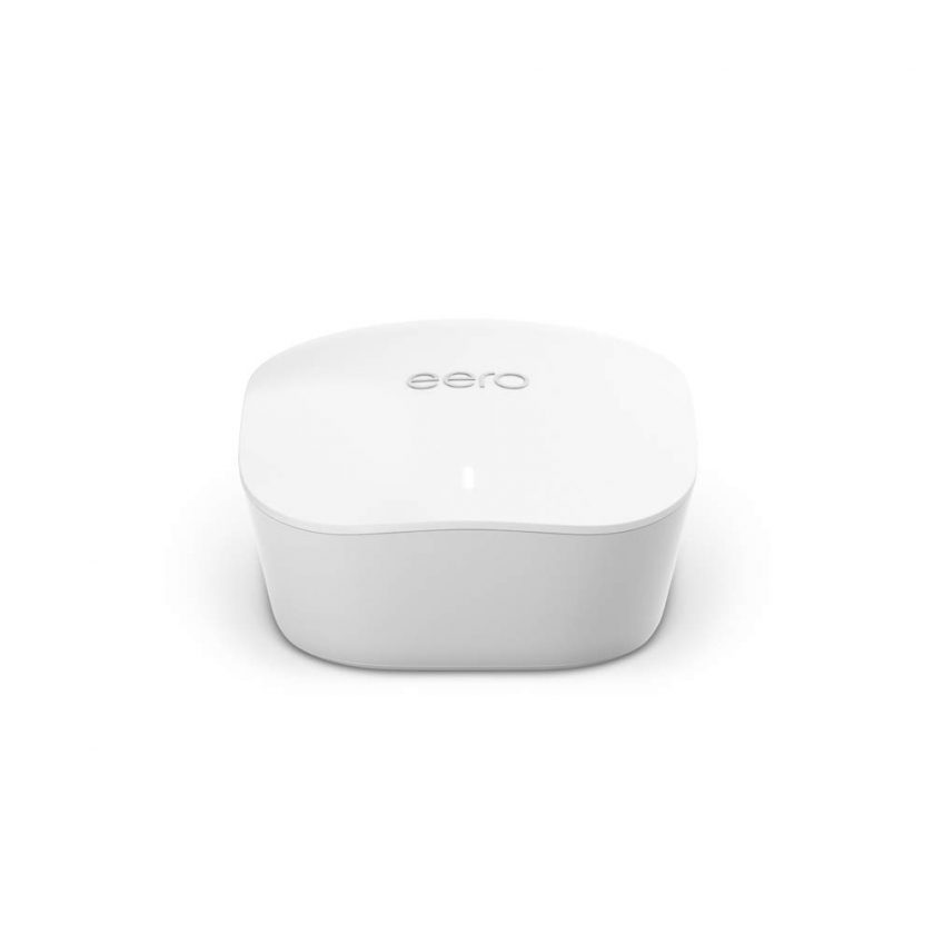 Router/extensor wifi de malla Amazon eero compatible con Apple Homekit